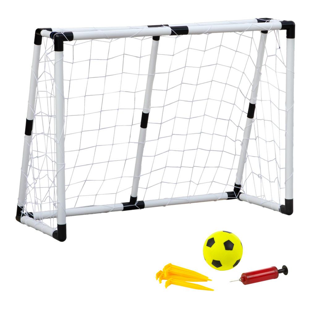 Portería de juguete con balón con balón e hinchador |Distria