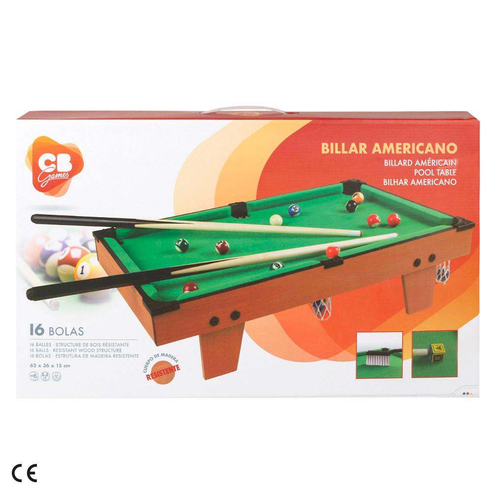 miniatura 4 - Billar americano madera CB Games
