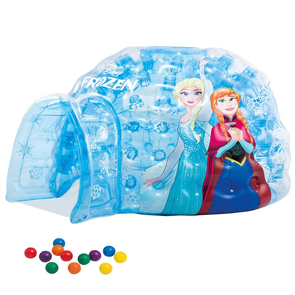 Iglú hinchable Frozen INTEX   Centros de juego hinchables Disney