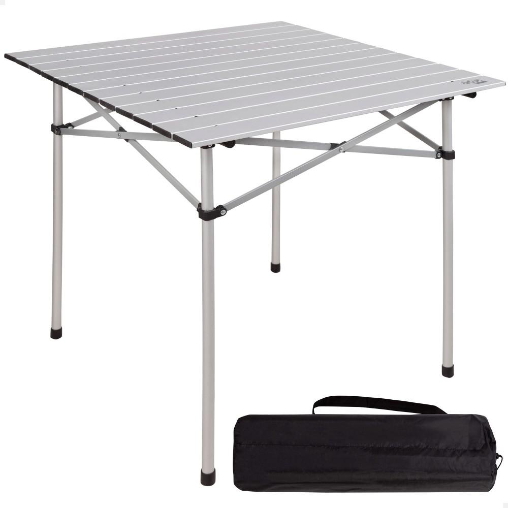 Mesa dobrável camping de alumínio - Distria