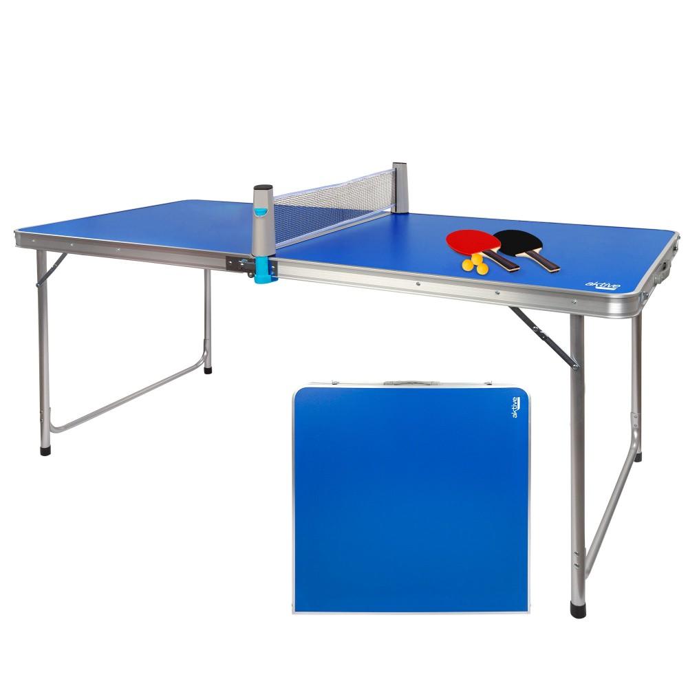 Mesa ping-pong dobrável para campismo da Aktive | Distria.com