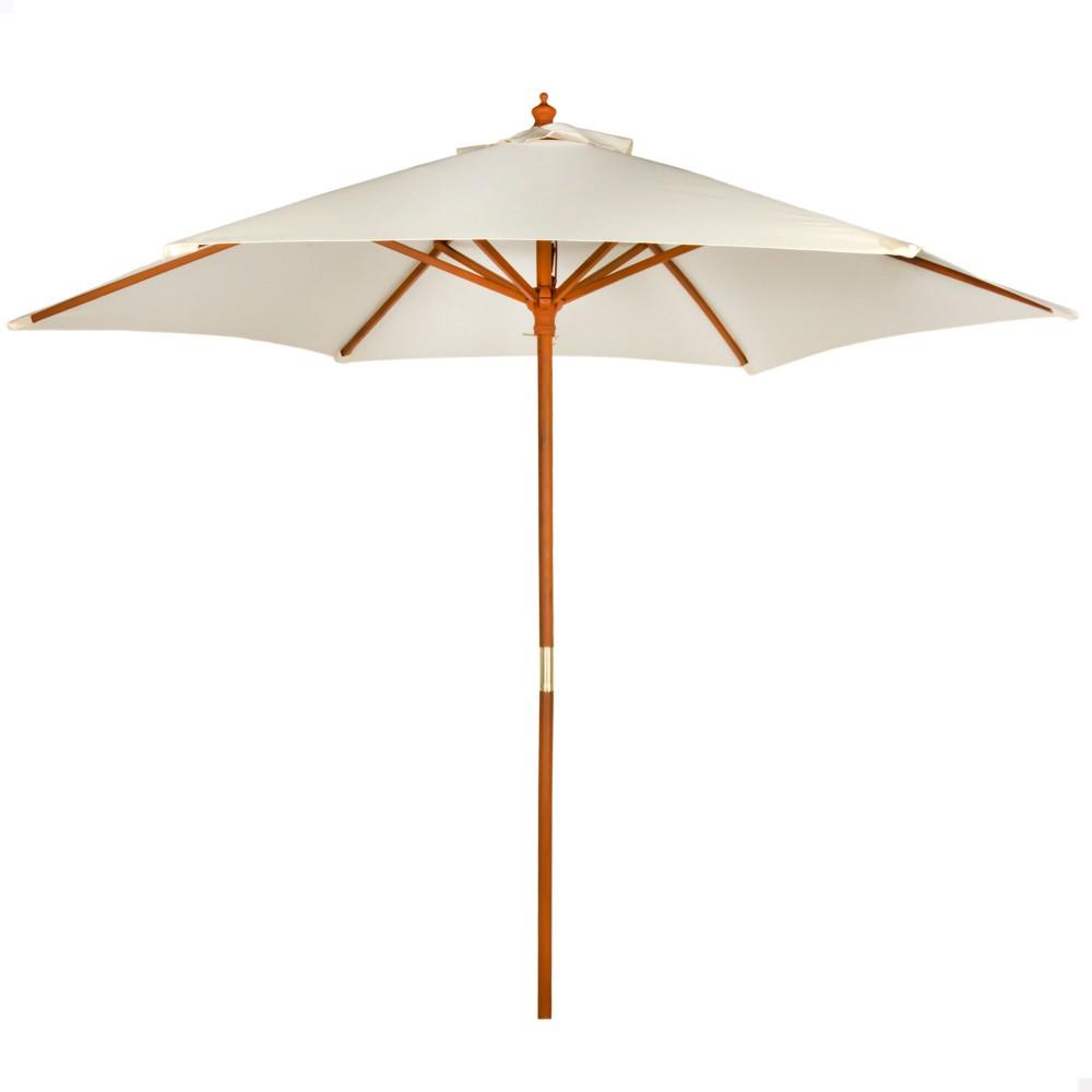 Parasol hexagonal para jardín o terraza - Distria