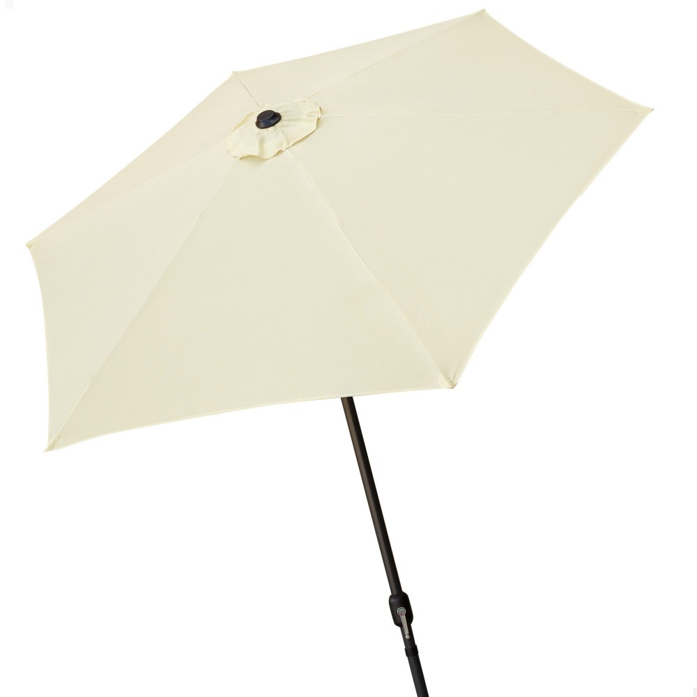 Parasol con estructura de aluminio para jardín - Aktive