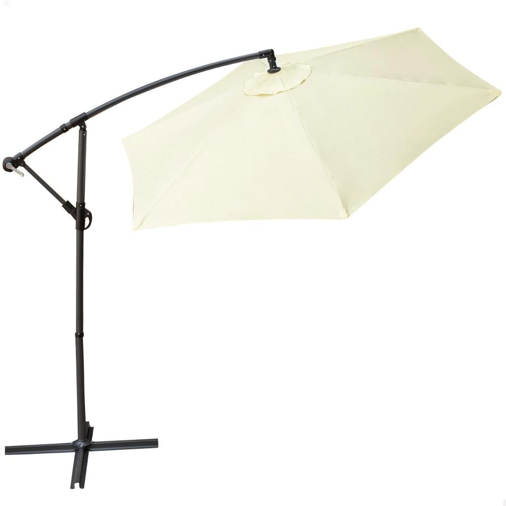 Parasol excéntrico jardín-Sombrilla Aktive | Distria