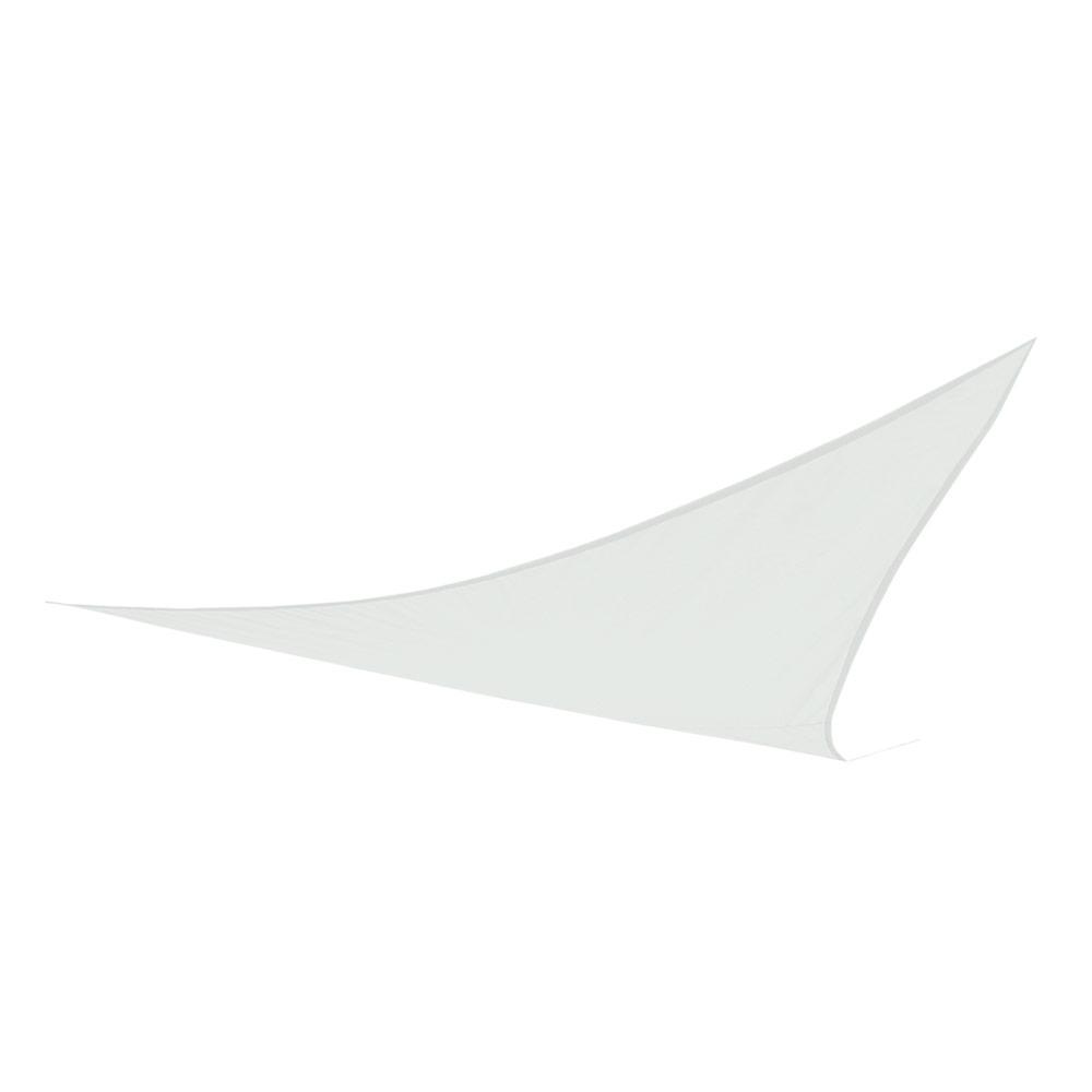Accesorios jardín | Toldo vela triangular blanco | Distria