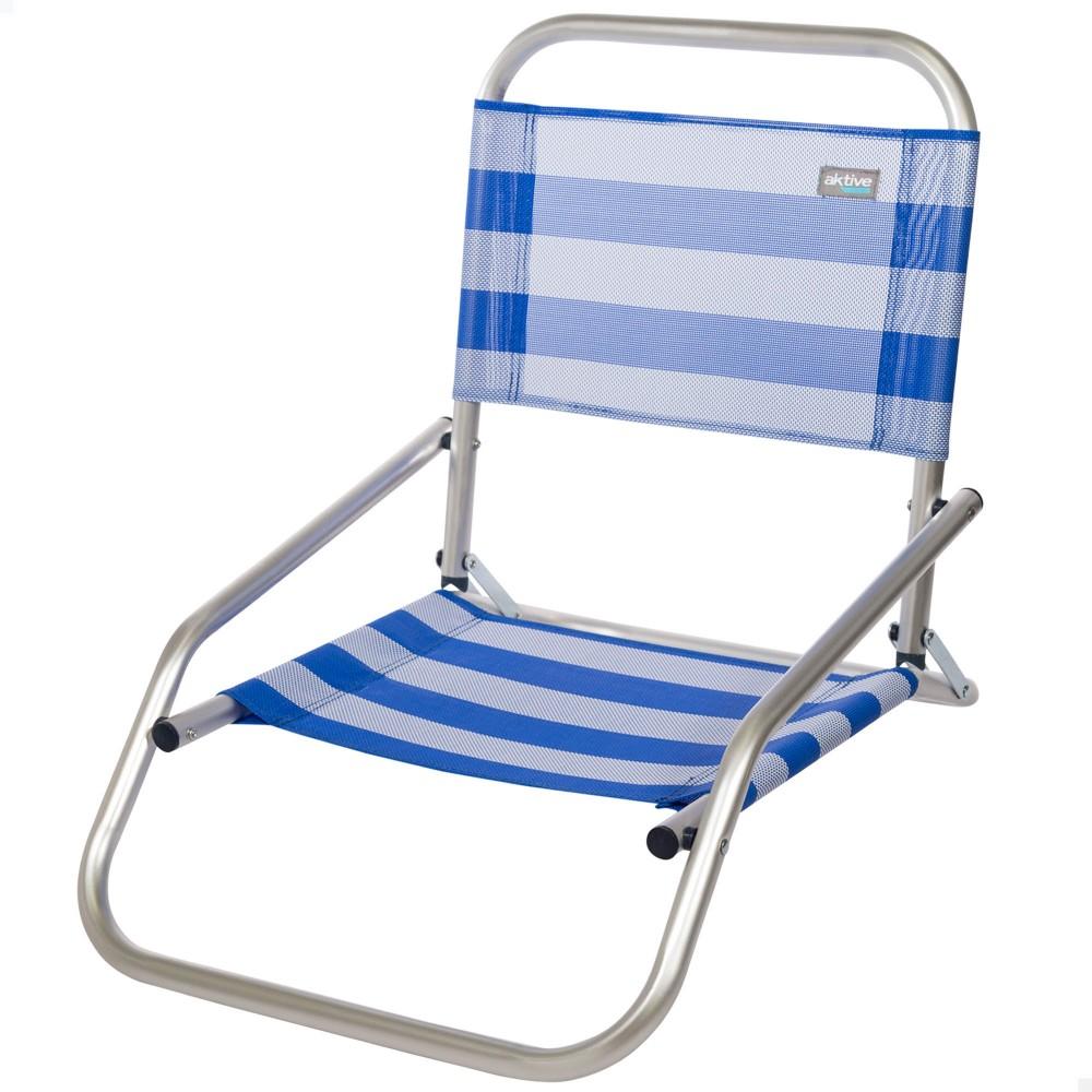Silla baja de playa marinera- silla playa | Distria