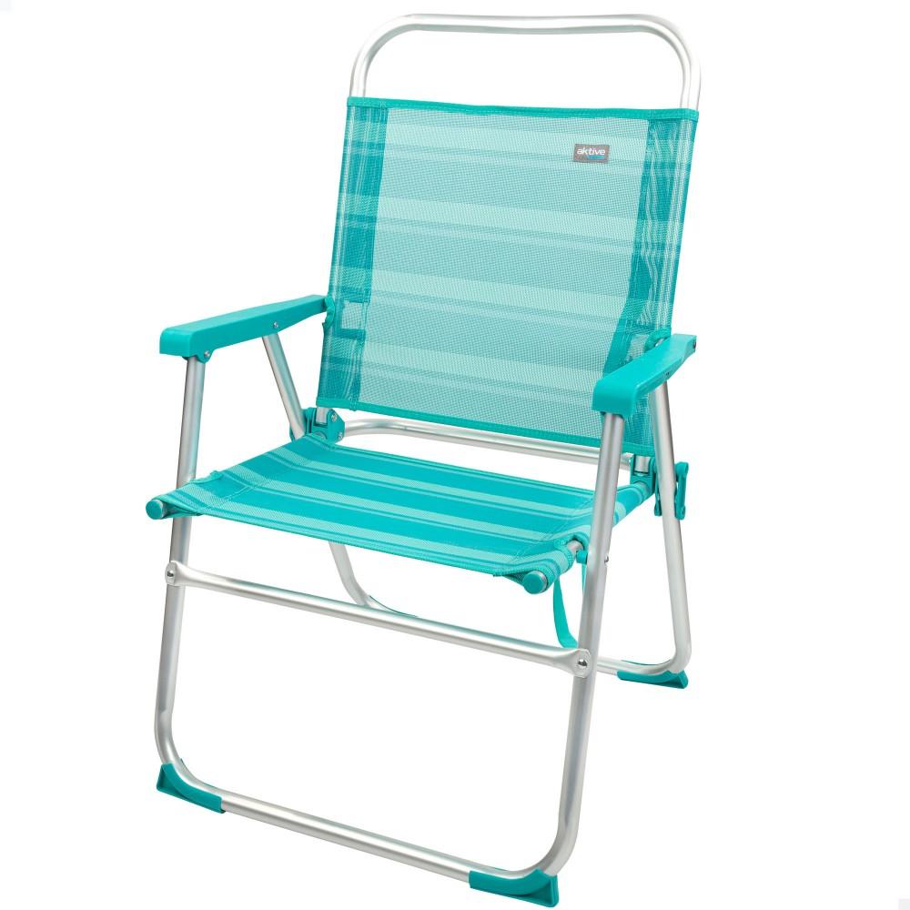 Cadeira de alumínio dobrável-Cadeira de praia | Distria