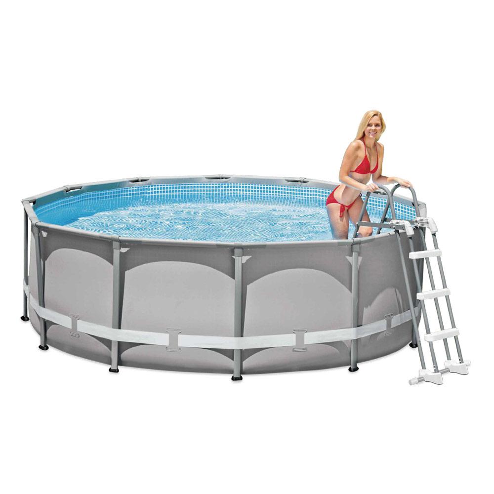 Escalera para piscinas desmontables intex medidas y precios for Piscinas intex modelos y precios