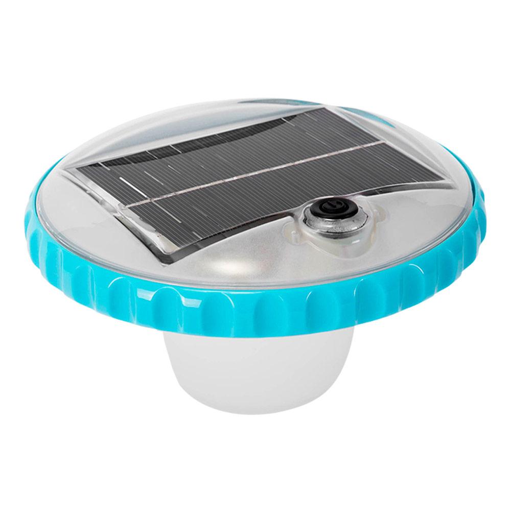 Luz LED flotante carga solar para piscinas | Intex accesorios piscinas