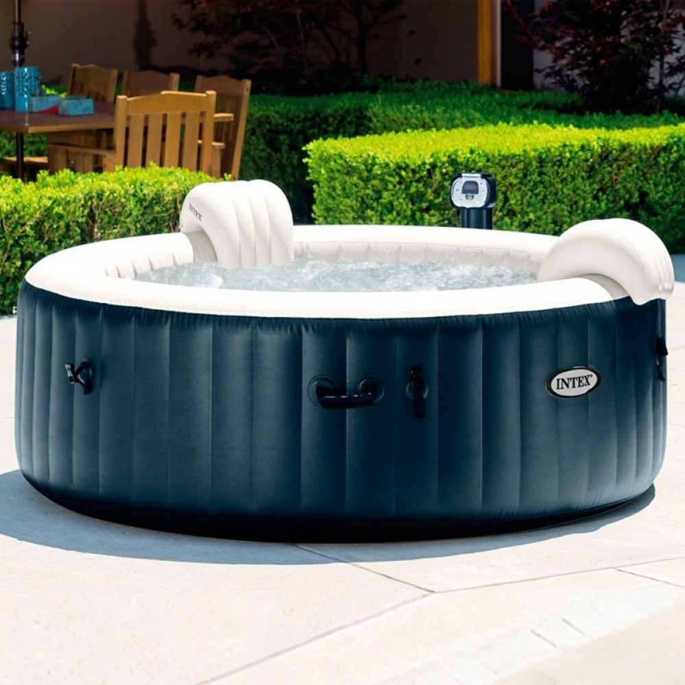 Spa hinchable Intex PureSpa Burbujas para 4 personas | Spas y piscinas