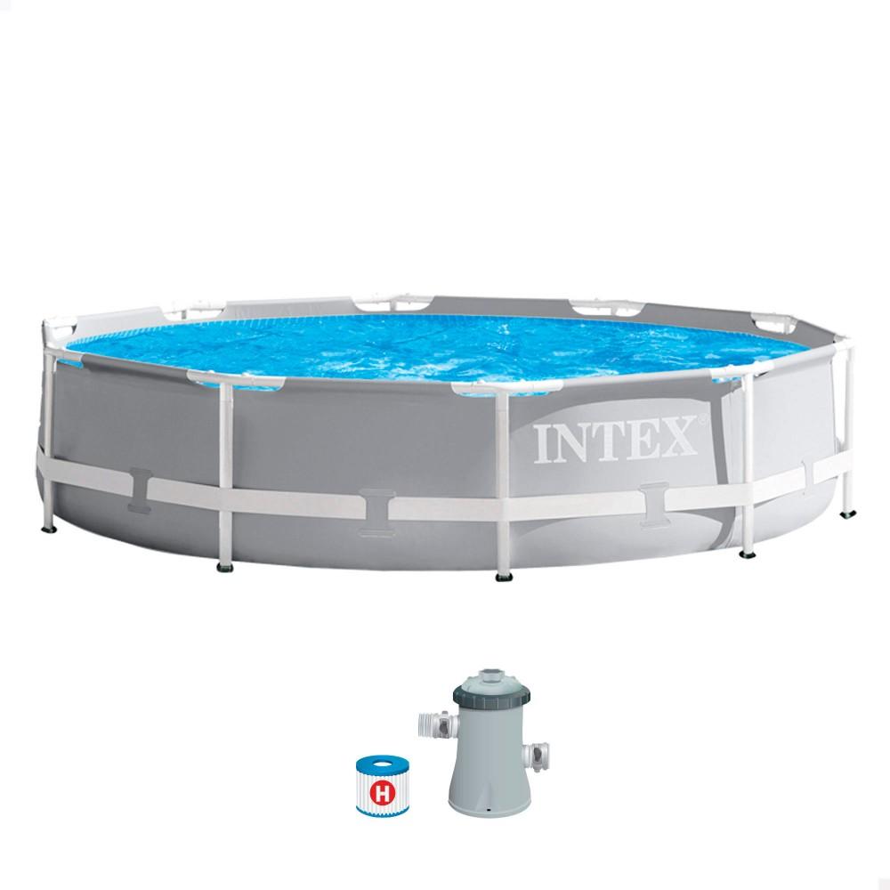 Comprar piscinas elevadas para jardín | Piscinas INTEX