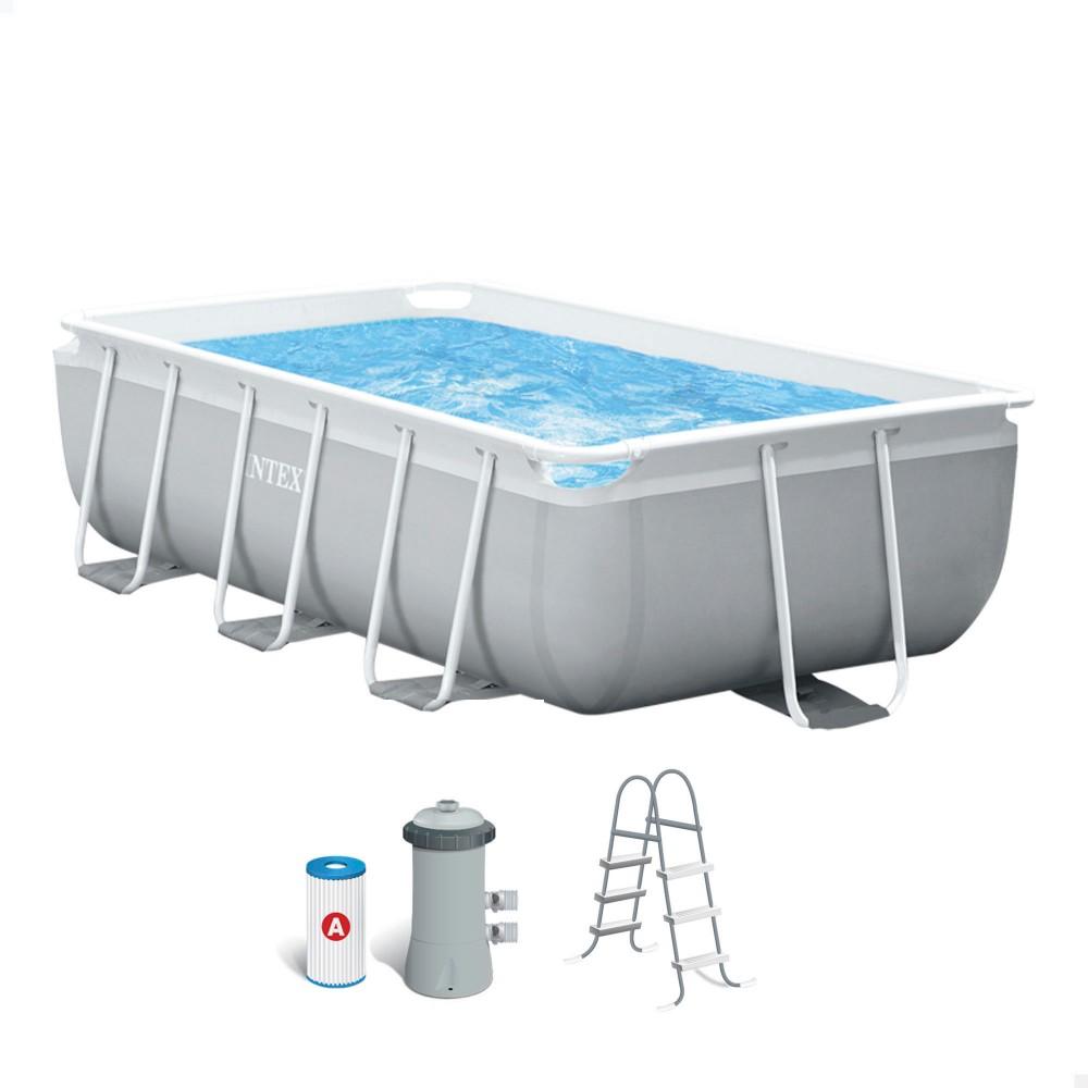 Comprar piscina sin obra · Piscinas elevadas INTEX