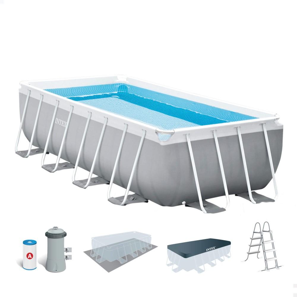 Piscina rectangular sin obra · Comprar piscina INTEX