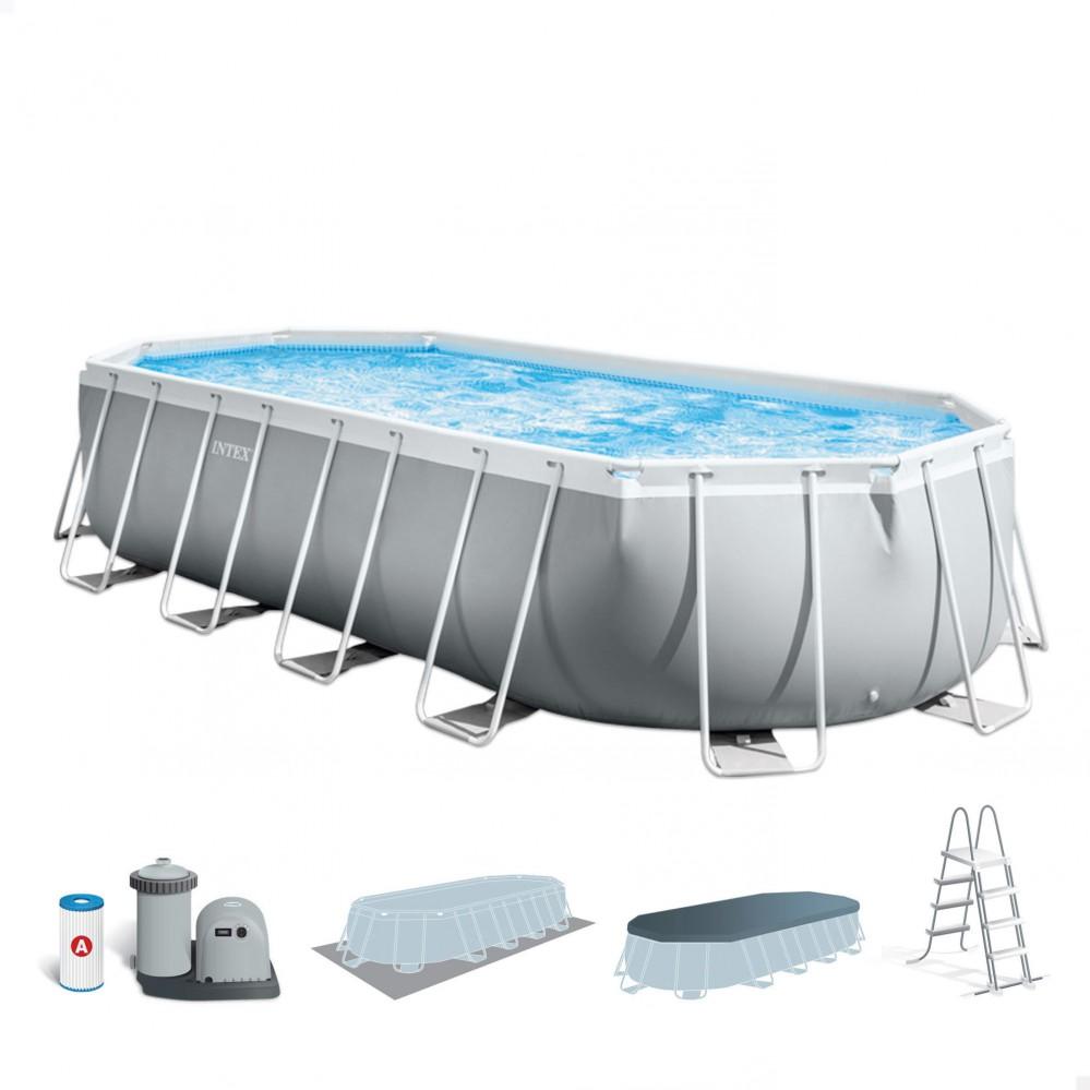 Piscinas sobre o solo · Comprar piscina barata INTEX