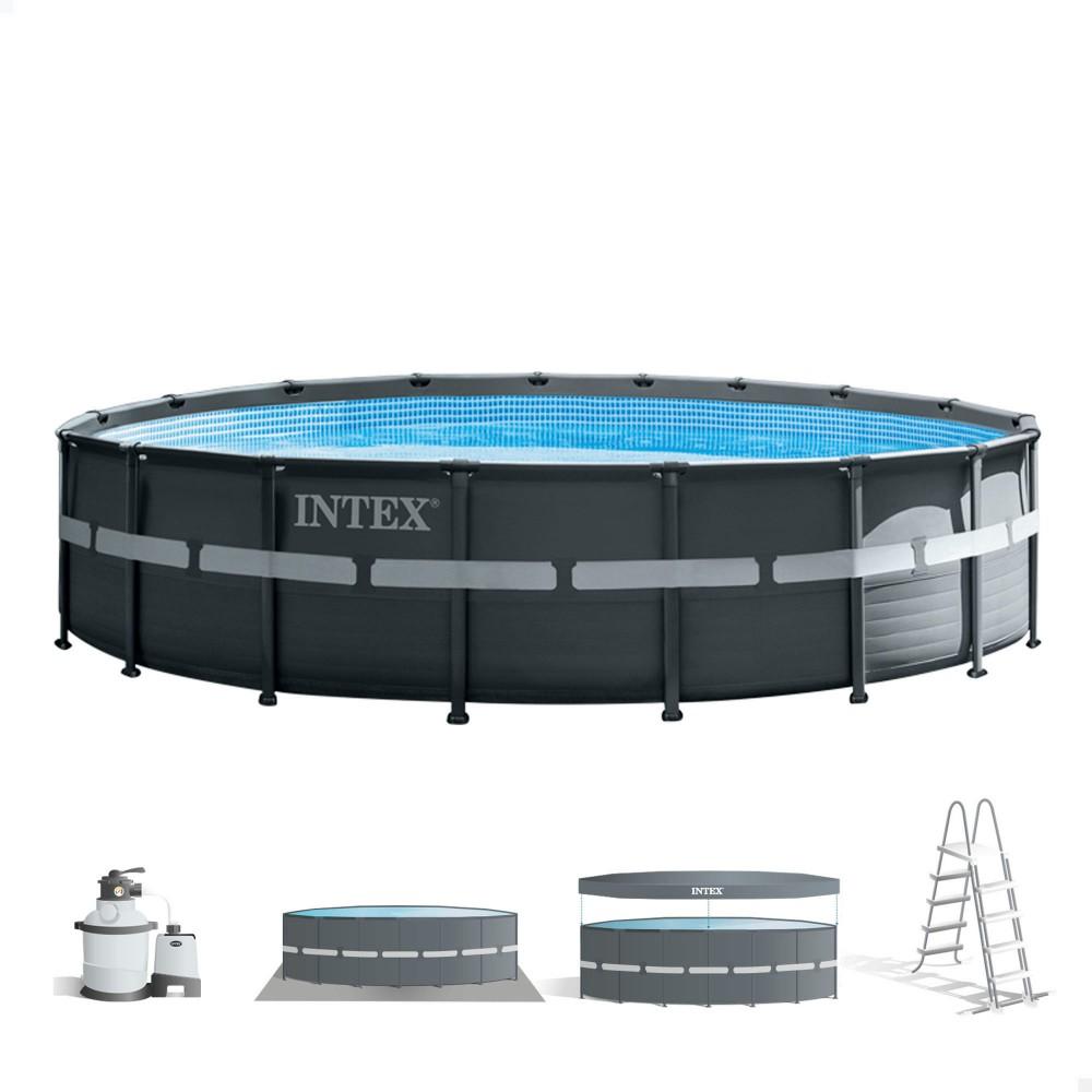 Piscina desmontável redonda INTEX - Distria.es