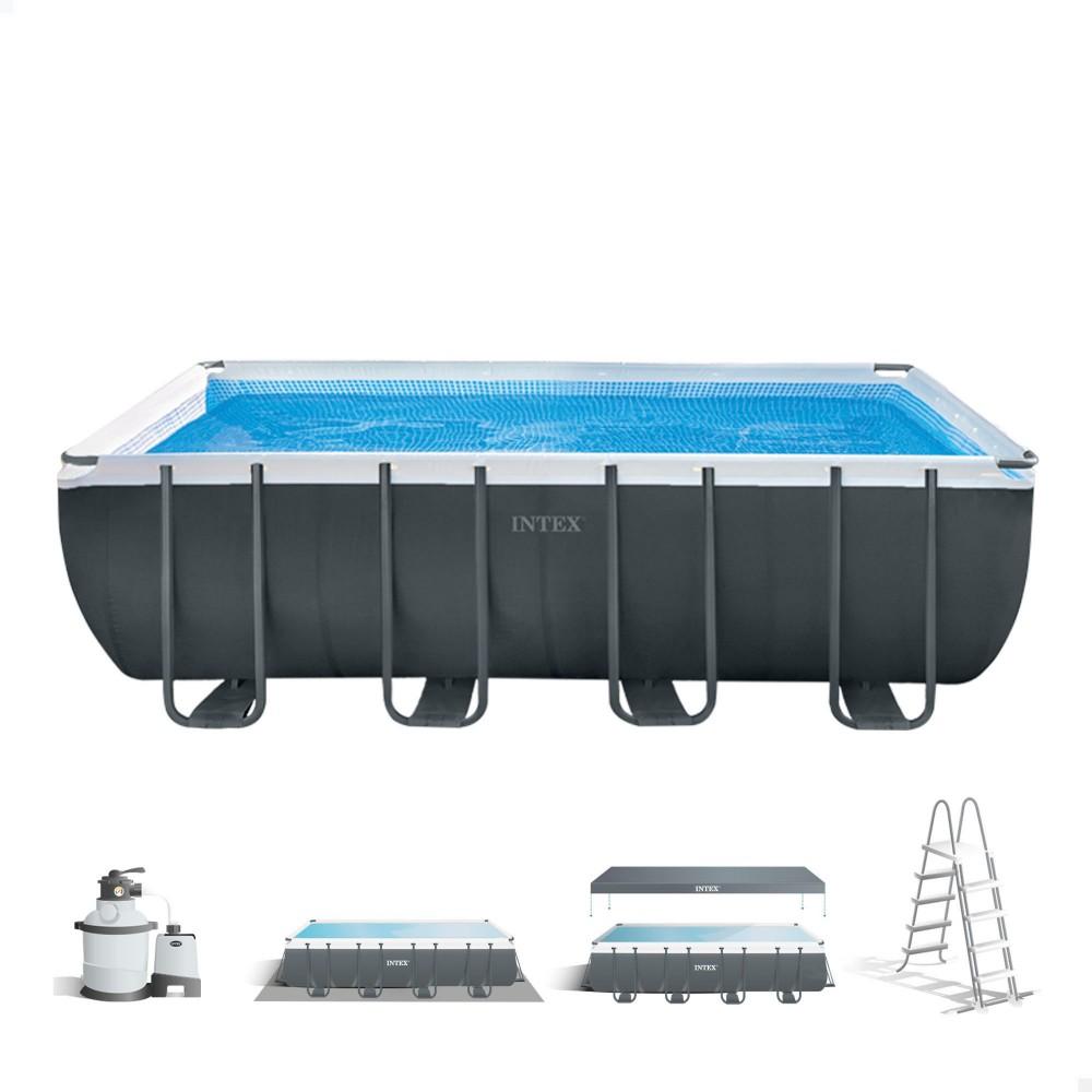Comprar piscina elevada · Piscinas desmontables INTEX
