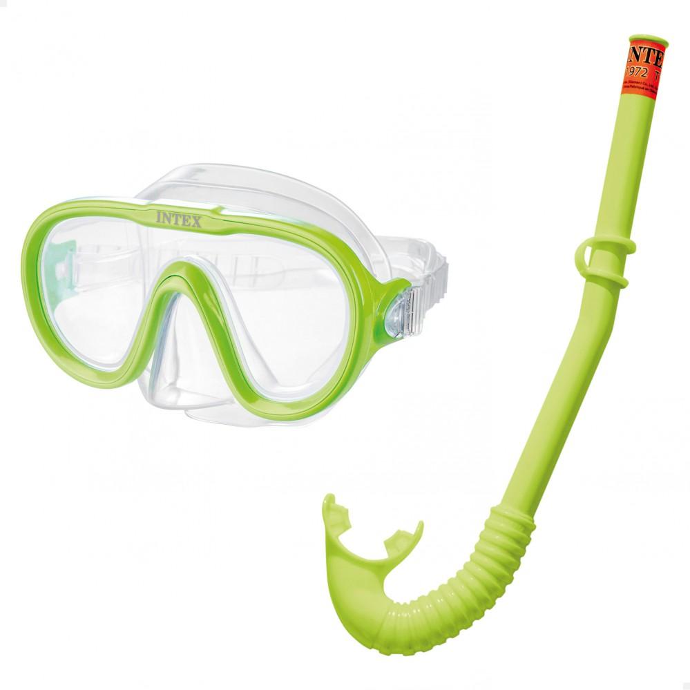 Kit snorkel infantil INTEX - Acessórios mergulho e snorkel na Distria