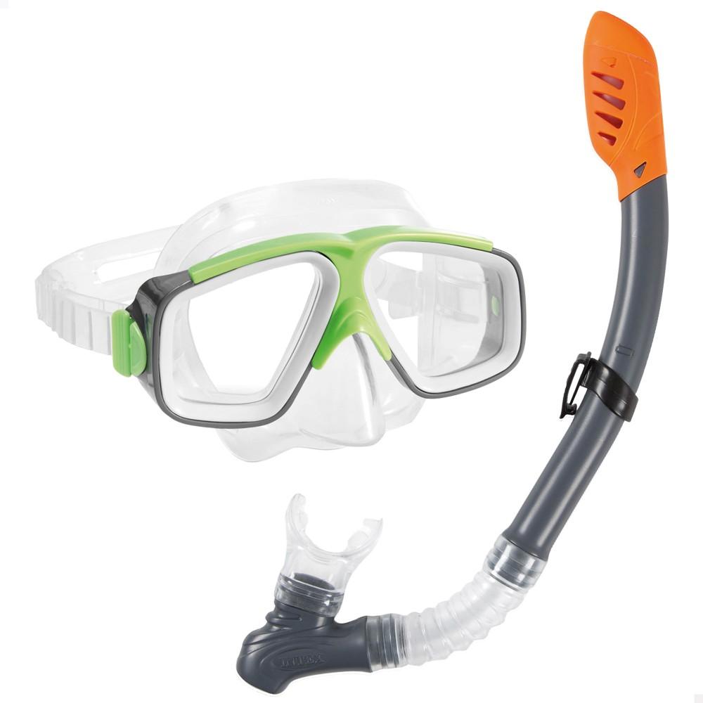 Conjunto de mergulho com máscara e tubo | Intex Surf Rider