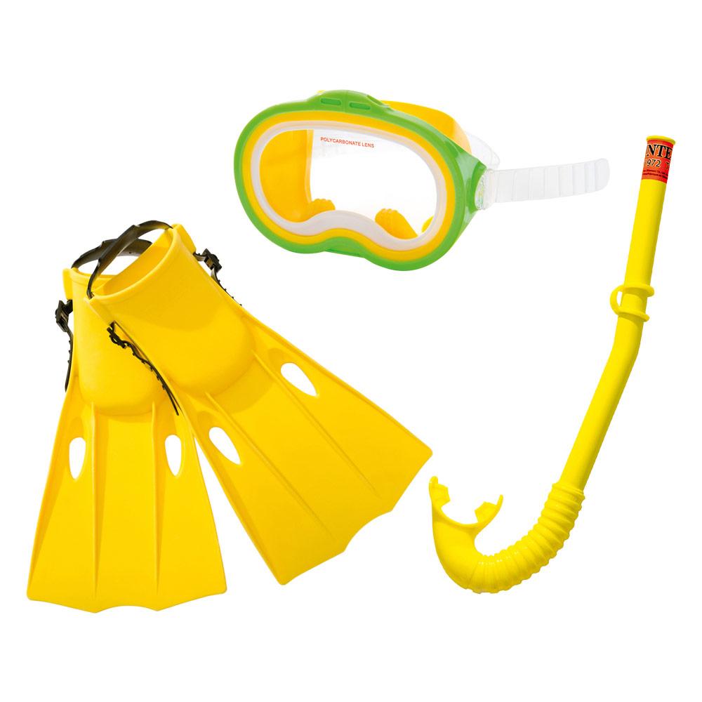 Kit Mergulho INTEX com tubo, barbatanas e óculos | INTEX