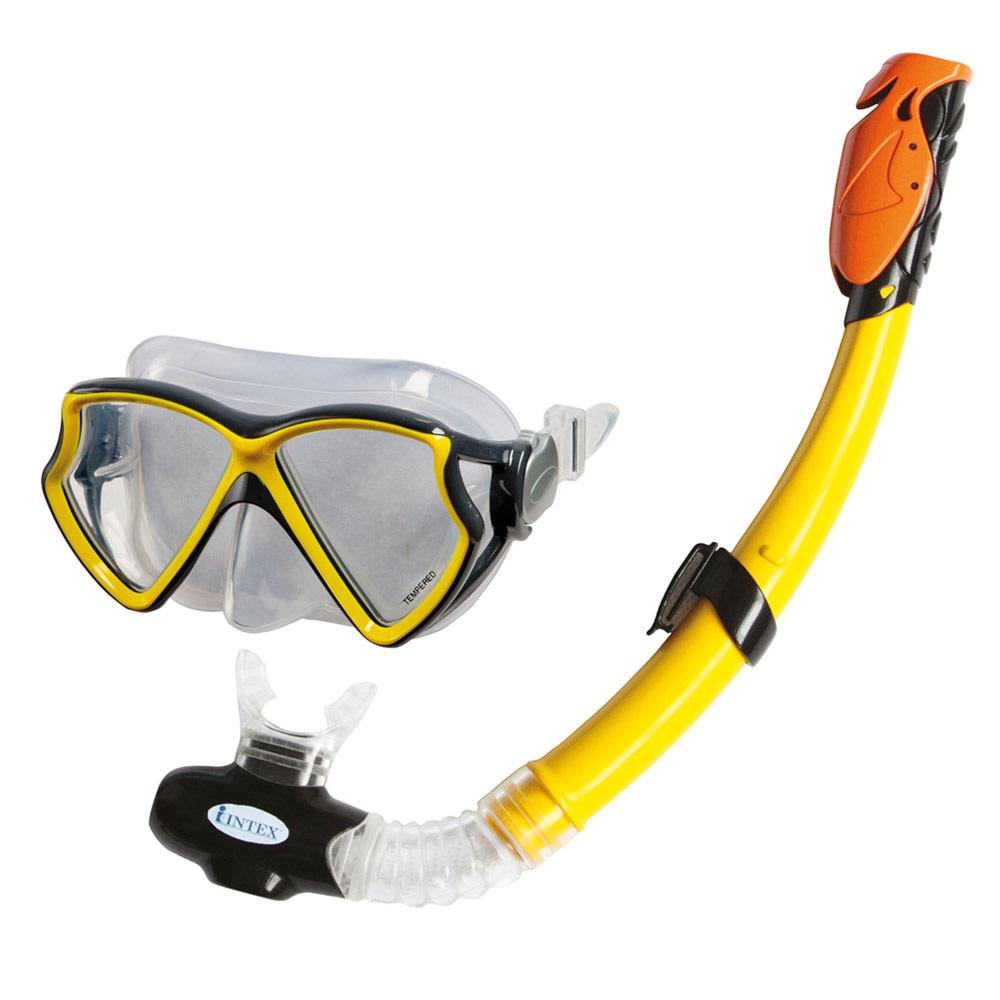 Máscara y tubo de buceo Intex | Todos los complementos para la playa y la piscina los encuentras en la tienda online de Distria