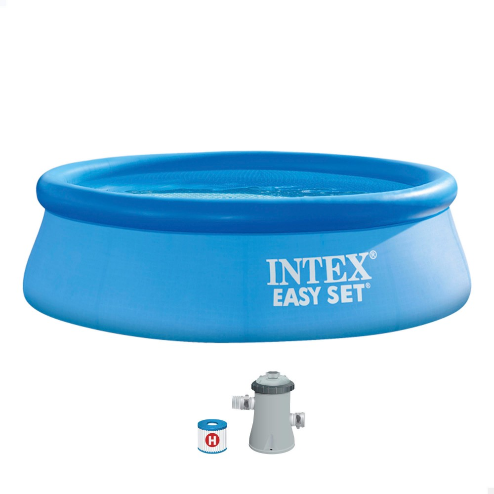 Piscina hinchable Intex con depuradora Easy Set \ Distria