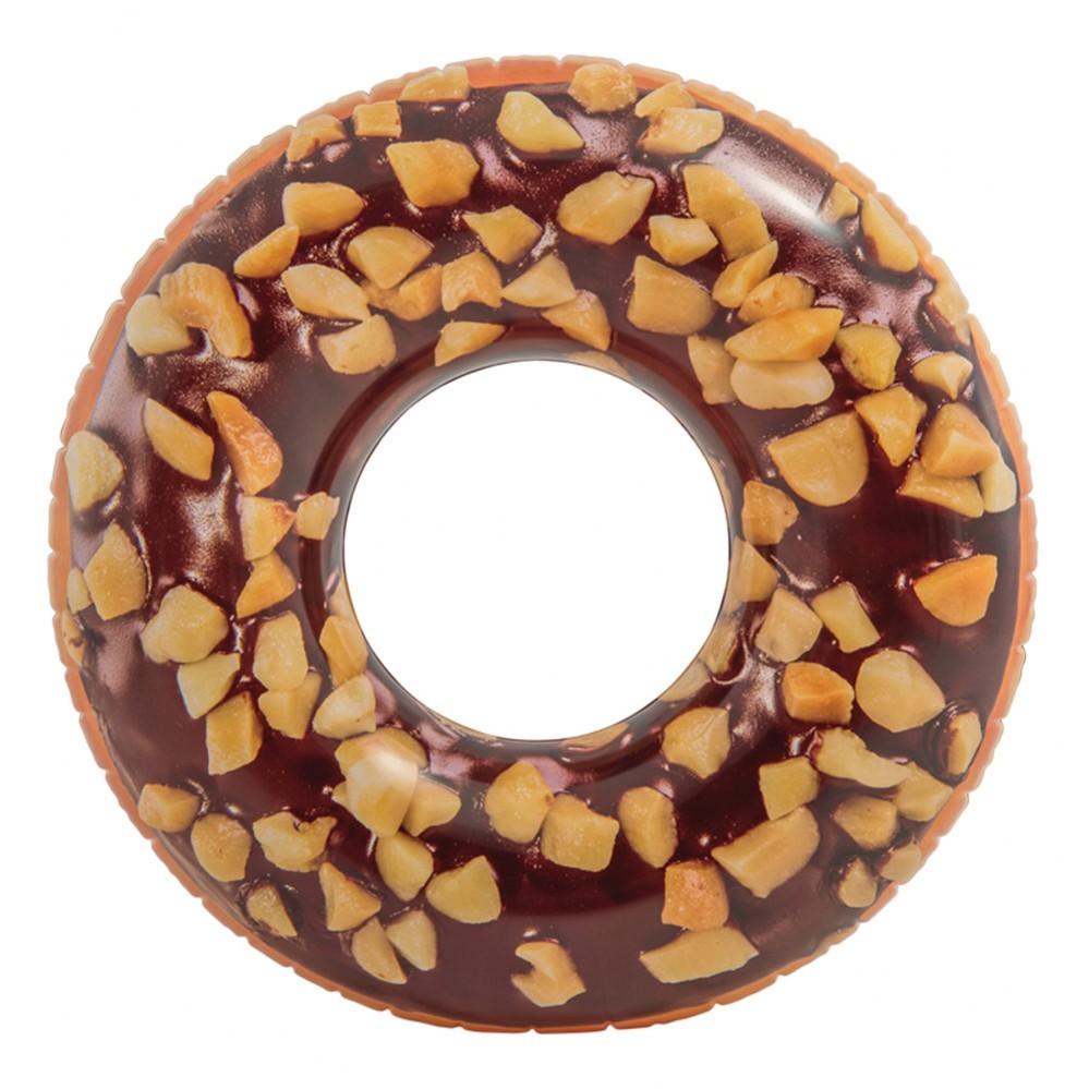 Roda insuflável donut de chocolate | Insufláveis Intex