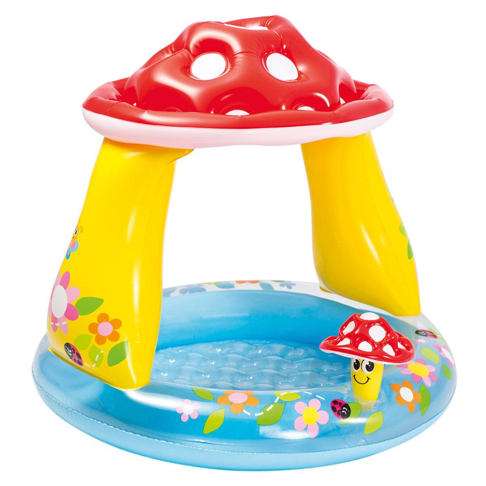 Piscina hinchable infantil Intex con seta y parasol | Piscinas para niños