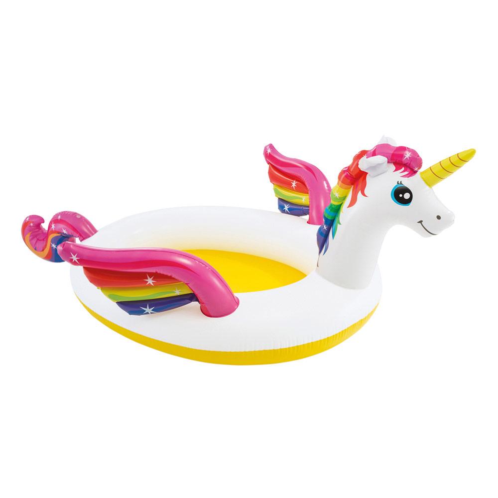 Piscina inflável Unicorn com pulverizador | Intex