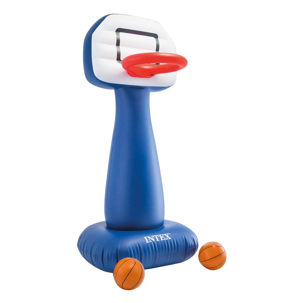 Cesta de basquetebol insuflável Intex com bolas | Intex