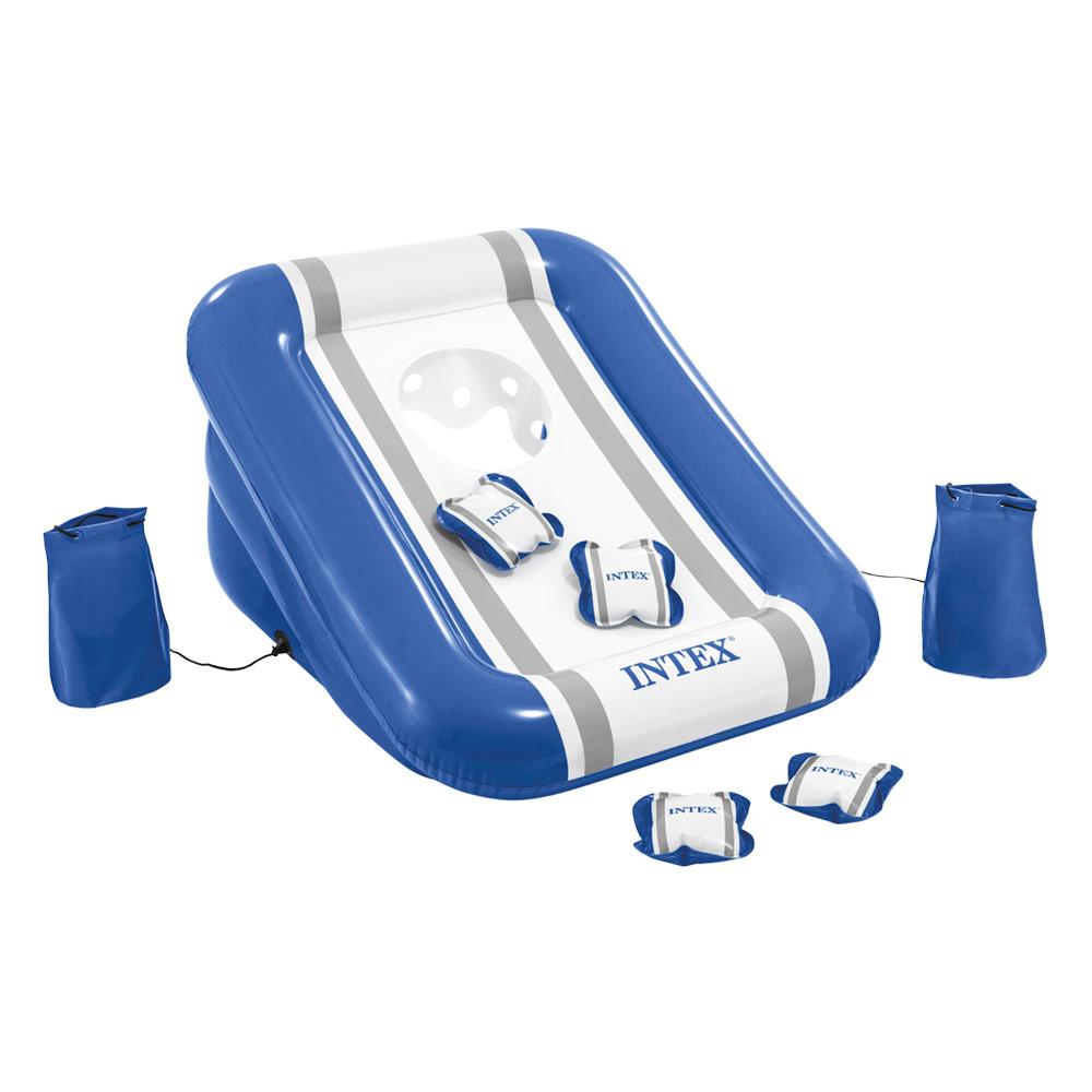 Jogo cesto insuflável para piscinas, jardim ou parque   Intex