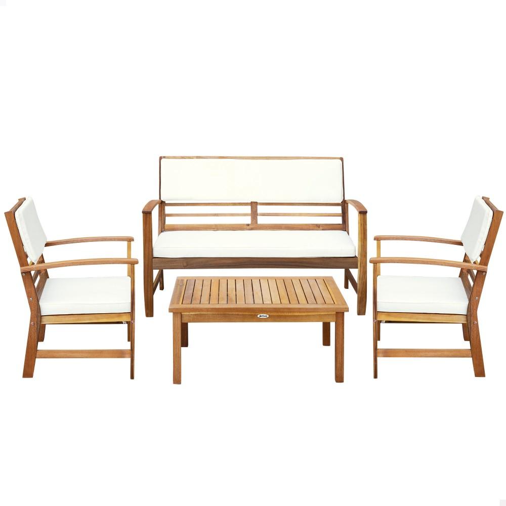 Conjunto jardín Mesa, sofá y sillón - Aktive Garden | Distria