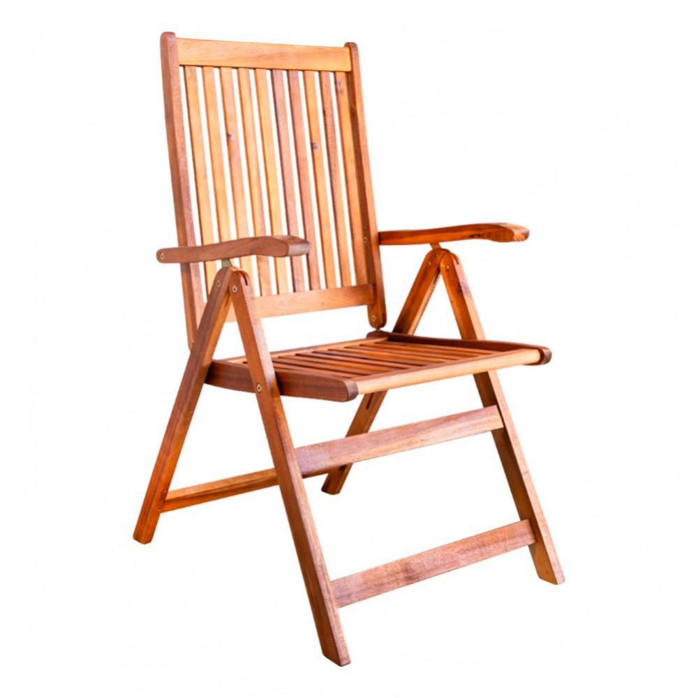 Set 2 cadeiras de jardim 5 posições | Distria.com