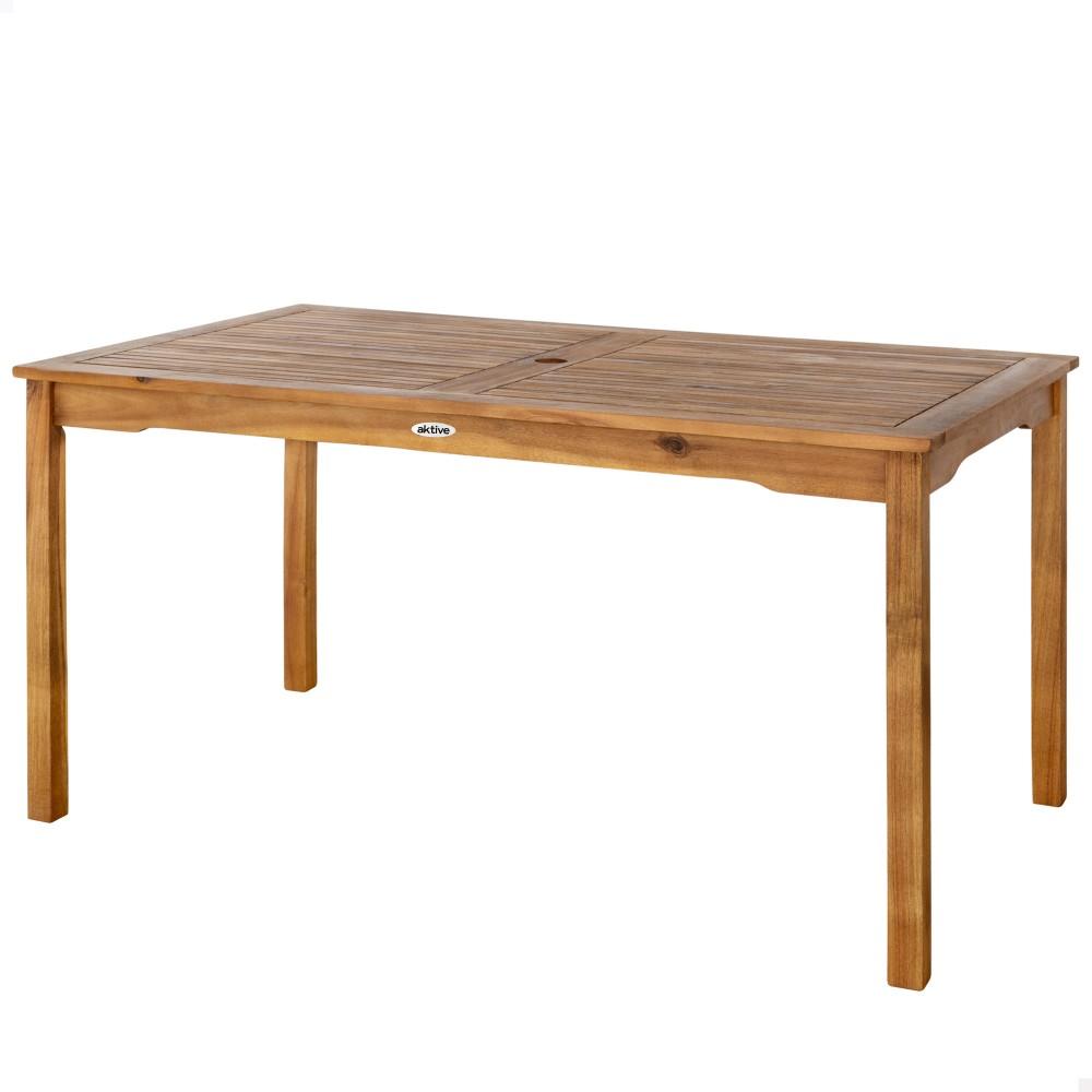 Mesa de madeira sustentável para jardim |Distria