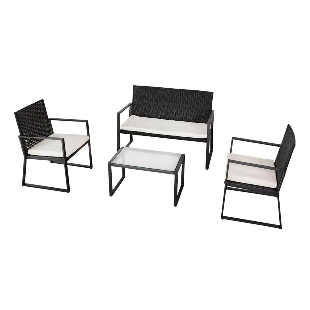 Sofá, sillones y mesa Aktive Garden | Mobiliario jardín en Distria