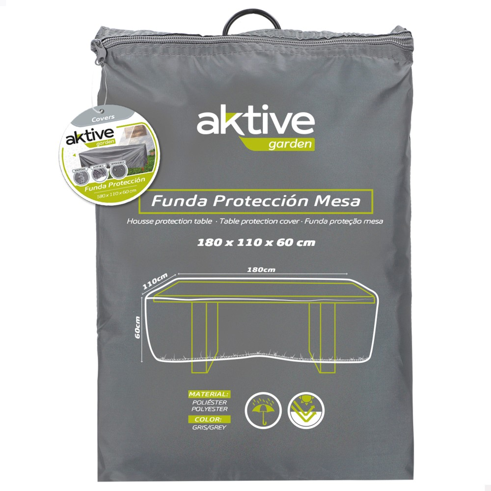 Funda protectora para mesas de jardín Aktive  - Distria.com