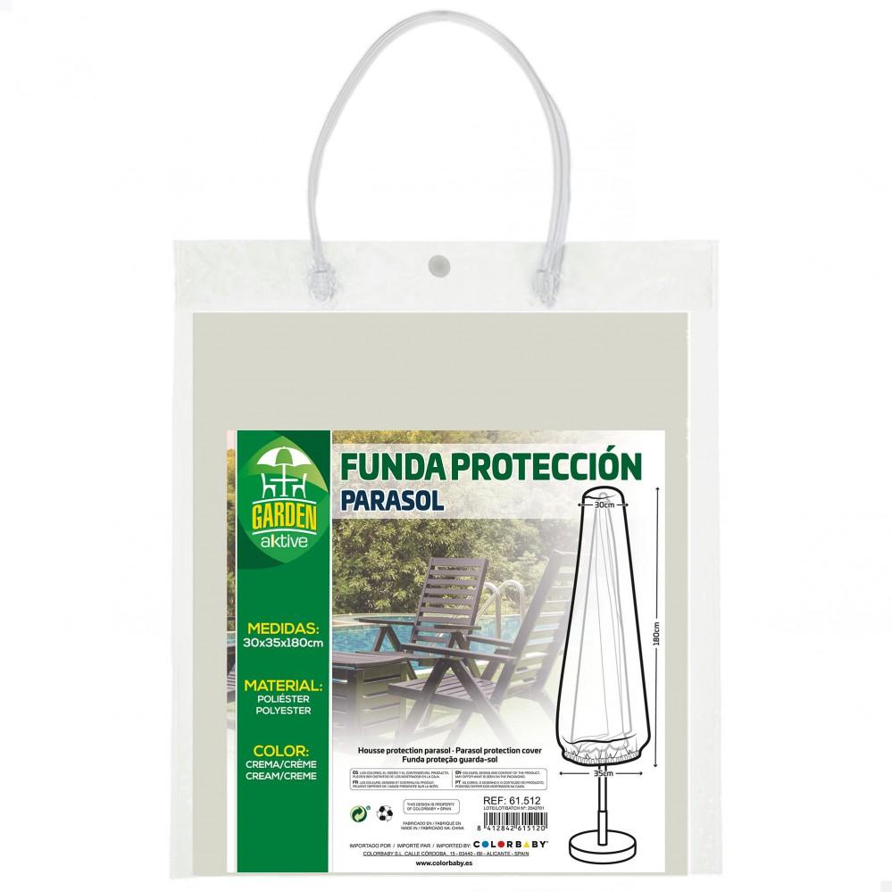 Funda protectora parasol-Mobiliario jardín| Distria