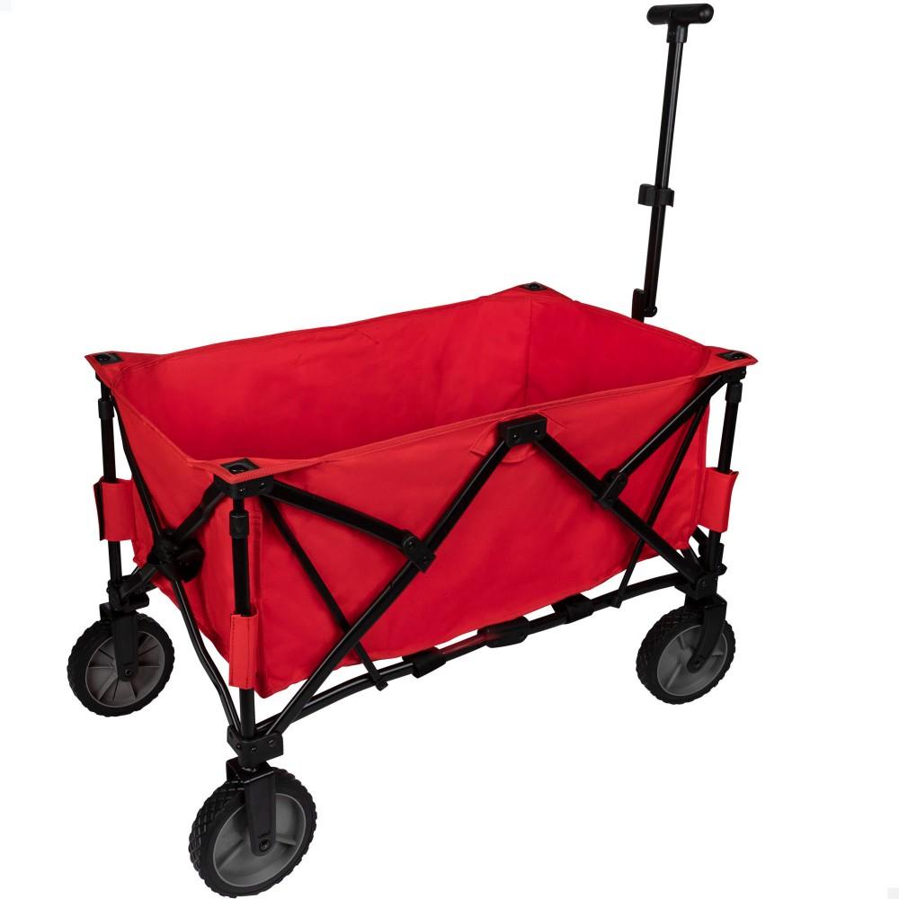 Carro de Transporte para playa Rojo Aktive - Distria.com