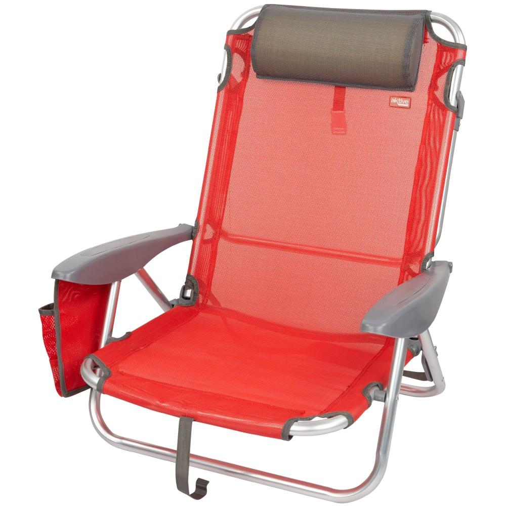 Cadeira reclinável dobrável-Cadeira de Praia| Distria