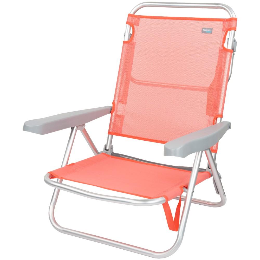 Silla baja reclinable-Sillas de Playa | Distria