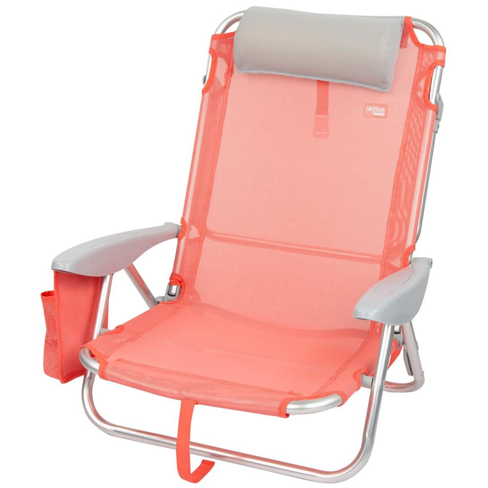 Cadeira dobrável multi-posições-Cadeiras de Praia Coral | Distria