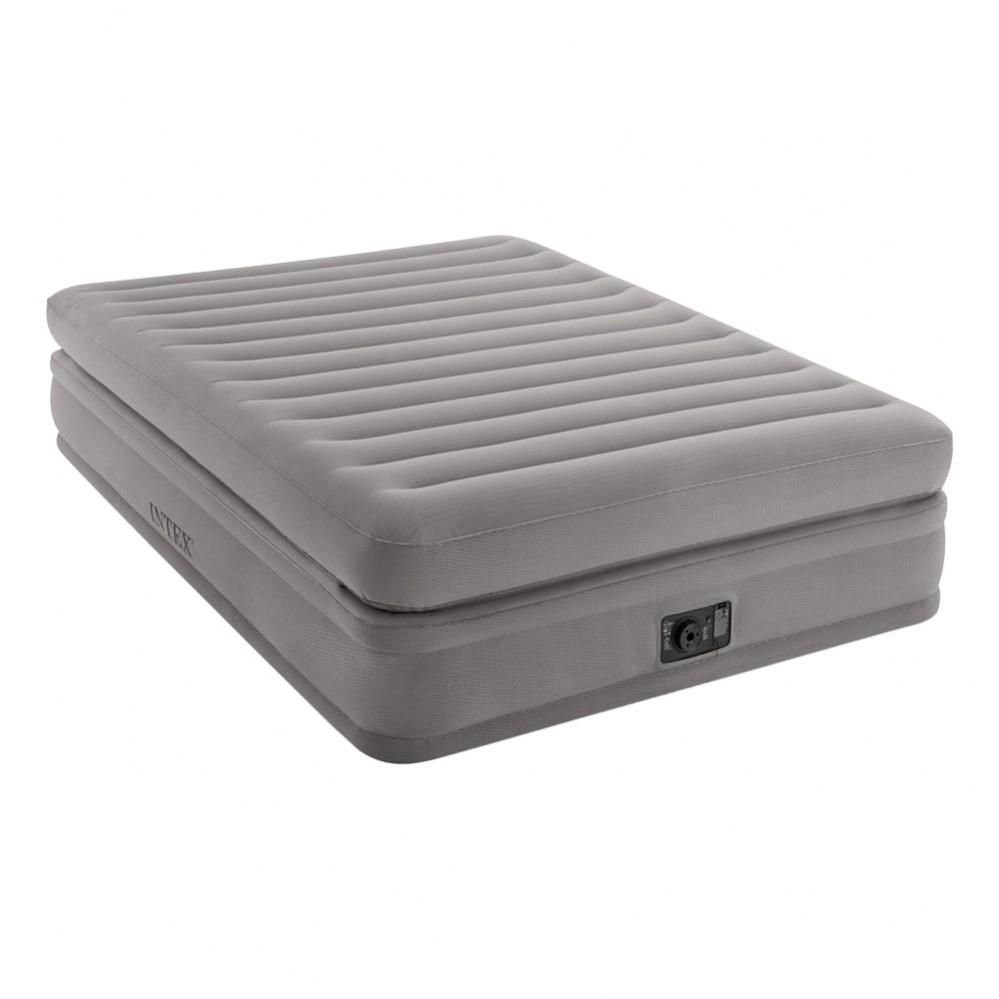 Cama hinchable INTEX Prime Comfort | 152x203cm, con bomba eléctrica