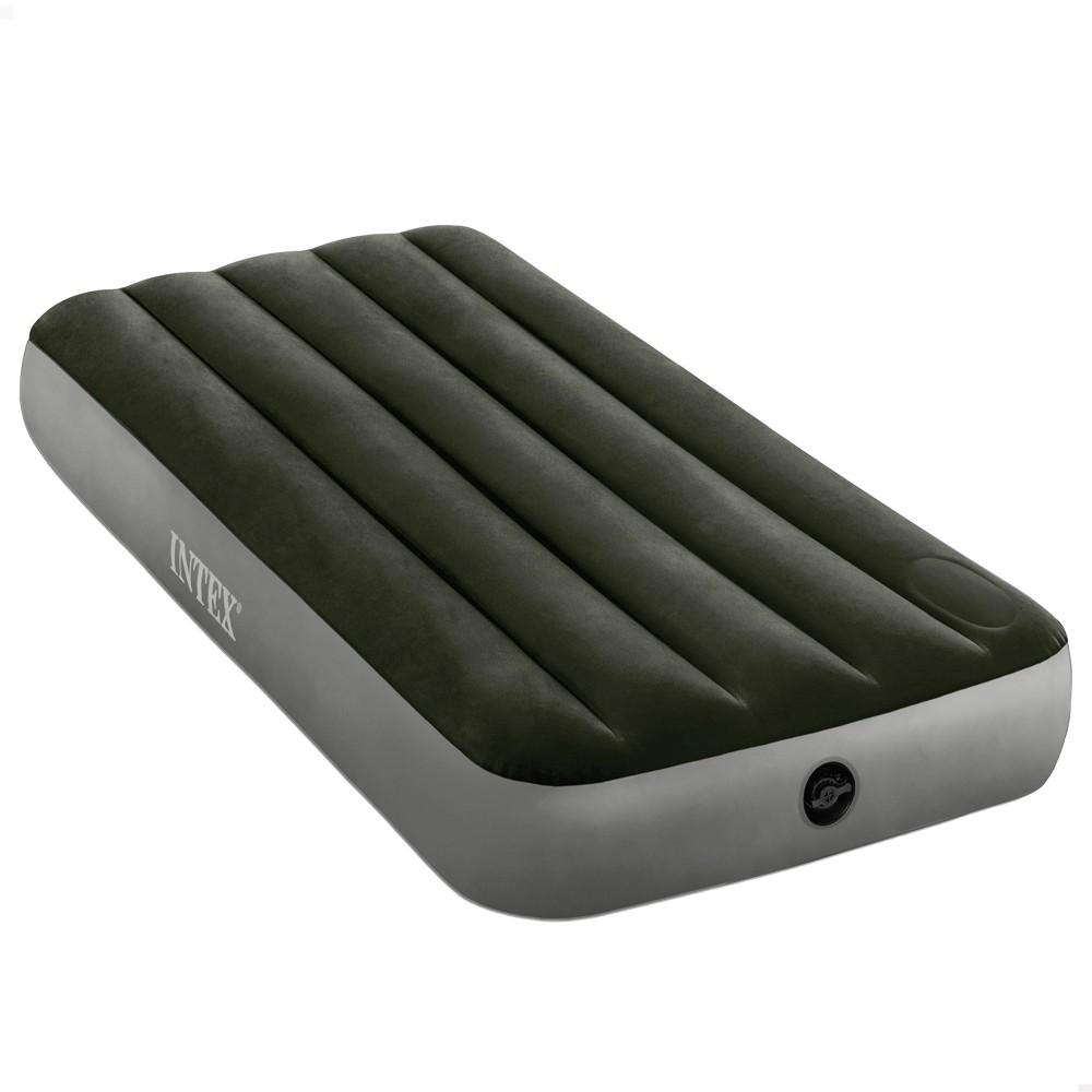 Colchón Camping INTEX individual con bomba de pie - Distria