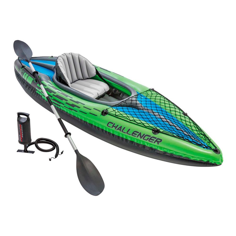 Kayak hinchable | Modelo Challenger K1 de Intex