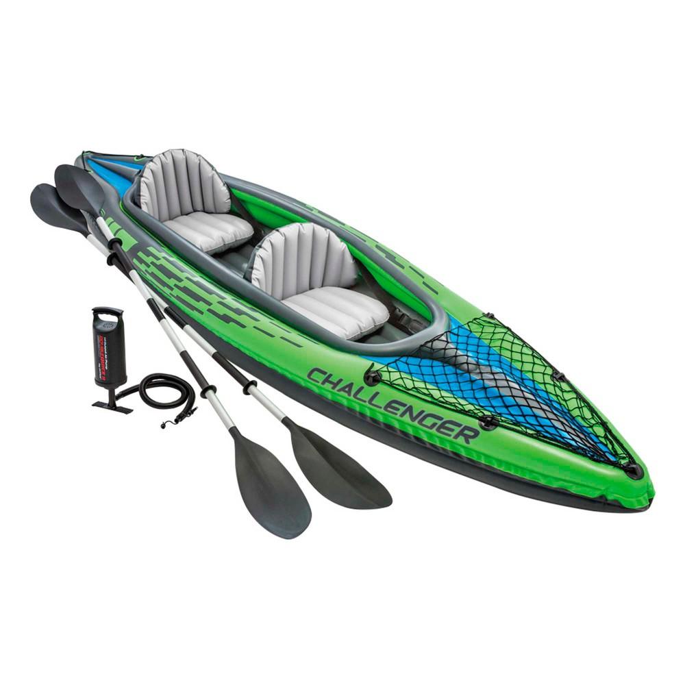 Kayak Challenger K2 con remos de alumino | INTEX