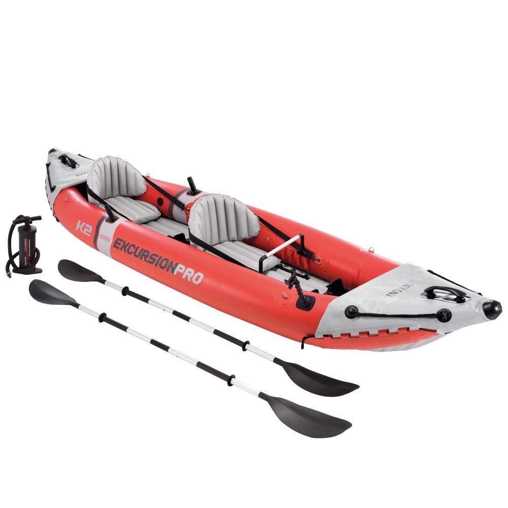 Kayak hinchable 2 plazas INTEX   Kayak hinchable para pescar