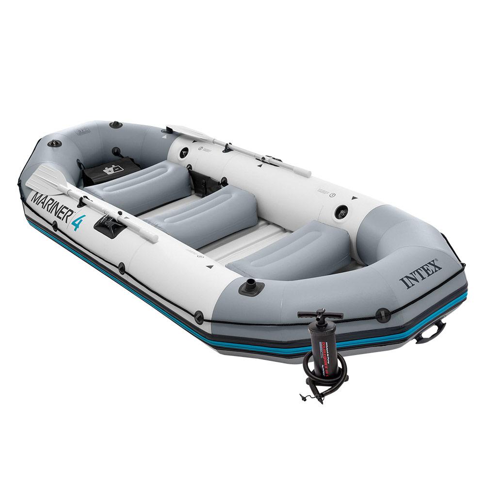 Barca hinchable Intex | Gama Mariner 4 para 4 personas, 328x145x48 cm