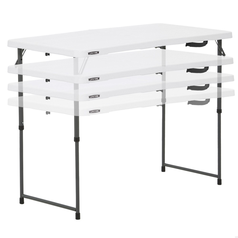 Mesa plegable auxiliar LIFETIME - Distria.com