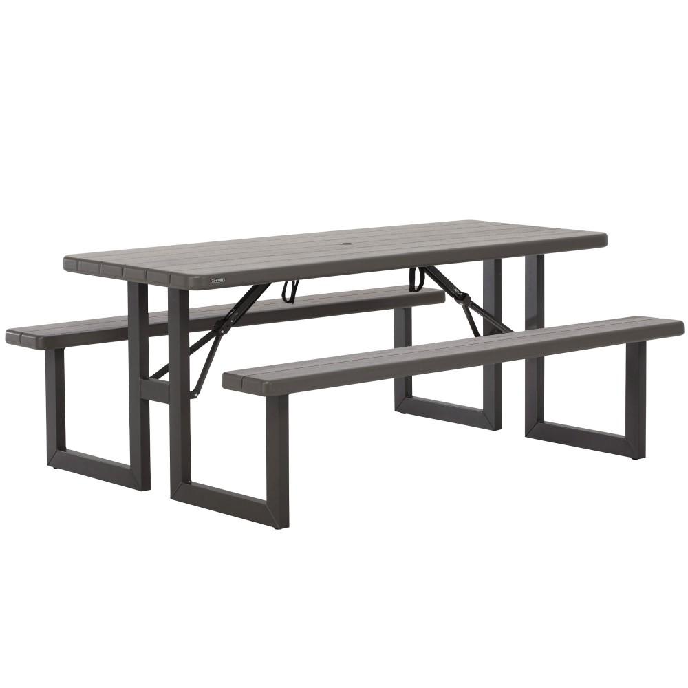 Mesa plegable picnic LIFETIME - Distria.com