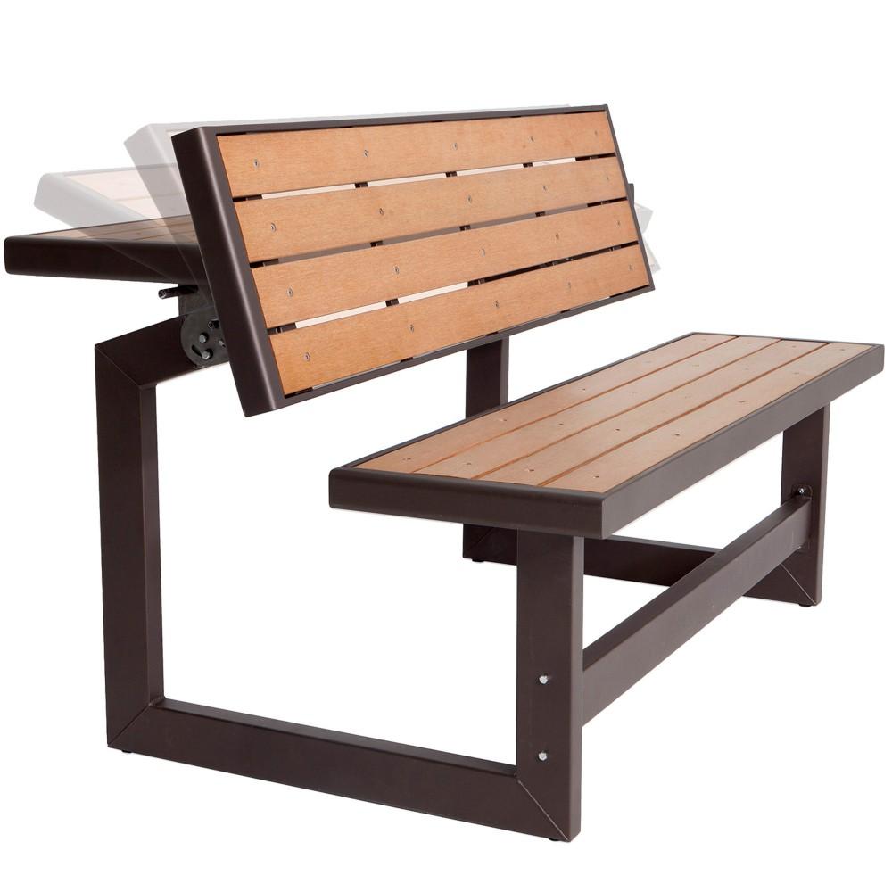 Banco de jardín con mesa LIFETIME| Distria