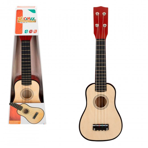 Guitarra de madera Play & Learn